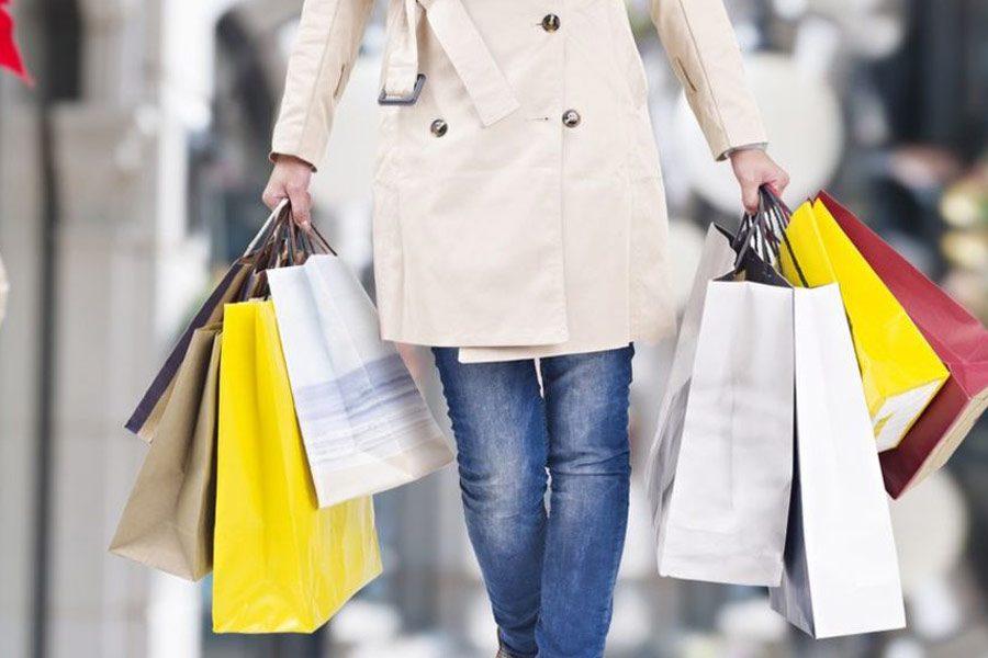 Credit holidays shopping